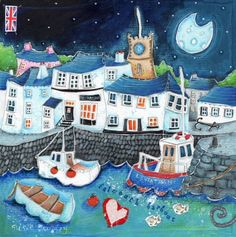 Quality & affordable art at Whistlefish - handpicked contemporary & traditional art. Naive Art, Art For Art Sake, Affordable Art, Coastal Style, Local Artists, Traditional Art, Folk Art, Whimsical, Art Pieces