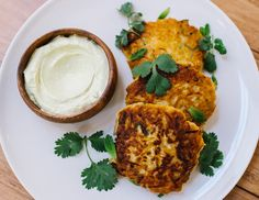 Savory Pumpkin Fritters from Basic Kitchen (Plant Of The Month Club Exclusive Recipe! Pumpkin Fritters, Savory Pumpkin Recipes, Vegetarian Recipes, Healthy Recipes, Healthy Food, Kitchen Plants, Basic Kitchen, Fall Recipes, Dinner Recipes