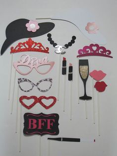 Photo Booth Props - Picture Idea