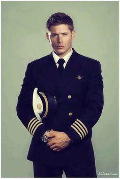 Um. Um. Ummmmm. I think I'll have to bamboozle Danny into a uniform like that. Yep.