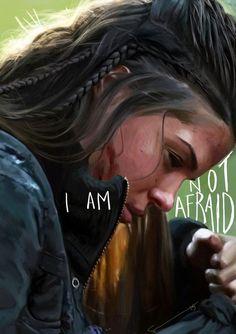 Octavia Blake, from the girl under the floor, to skyripa Treekru, skykru, onekru. True warrior ♥