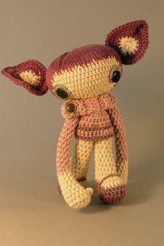 Soy MORA / crochet / amigurumi
