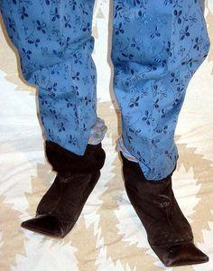 WORLDS END 'Hammerhead Boots' designed by Vivienne Westwood & Malcolm McLaren, circa 1981