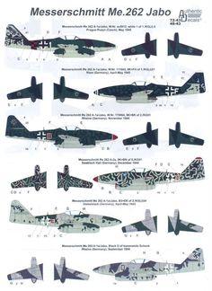 Authentic Decals 1 48 Messerschmitt Me 262 German Jet Fighter | eBay