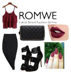 """Romwe 3"" by ahmetovic-mirzeta ❤ liked on Polyvore"