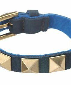 gorjana Sunset Pyramid Stud Bracelet #accessories  #jewelry  #bracelets  https://www.heeyy.com/suggests/gorjana-sunset-pyramid-stud-bracelet-imperial-blue-mare/