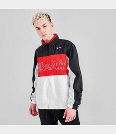 Men's Nike Air Hooded Woven Jacket. CJ4856-011 Adidas Men, Adidas Originals, Casual Shoes, Hoods, Nike Air, Graphic Sweatshirt, Sweatshirts, Jackets, Clothes