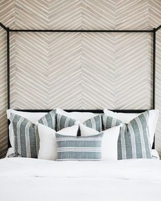 This has been a fun week for us! In case you missed it, we just launched our brand new pillow line a - lindyegalloway Interior Design Inspiration, Home Decor Inspiration, Design Ideas, Style Inspiration, Home Bedroom, Bedroom Decor, Bedroom Ideas, Master Bedroom, Bedroom Office