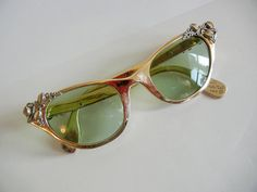 62b94efdc2 1950s eyeglasses   Climbing Vines Vintage 50 s Tura Fancy Cateye eyeglasses  Sun Glasses