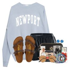A fashion look from August 2017 featuring shirt top, nike activewear and shock absorption shoes. Browse and shop related looks. Cute Lazy Outfits, Casual School Outfits, Sporty Outfits, College Outfits, Outfits For Teens, New Outfits, Girl Outfits, Athletic Outfits, Stylish Outfits