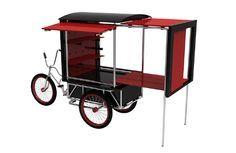 Food bike para diversas opções gourmet, indicado para produtos semi prontos
