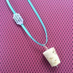 Luna lovegood butterbeer cork nargles necklace inspired by harry potter geekery