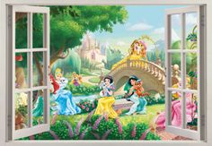Disney-Princess-Palace-Pets-3D-Effect-Wall-Sticker-Art-Decals-286
