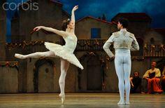 Marianela Nunez as Kitri with Carlos Acosta as Basilio in Don Quixote, Royal Ballet. Photo by Robbie Jack