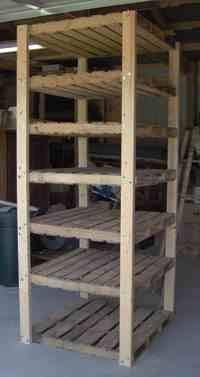 pallet shelves NOW THIS IS WHAT I NEED!
