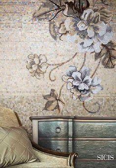 mosaico para interiores