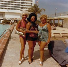 And the pool boys ran in shock & awe before Inez, Minnie & Second Cousin Bernice.