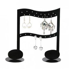 Fall In Love With This Heart Shaped Earring Display Earring