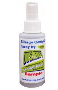 Get a sample of Dustroy Allergen Repellant!!