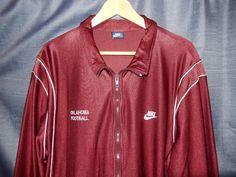 ac68929087b04 VTG Nike Blue Tag Oklahoma Sooners Football Team Issued Track Jacket 3XL  80s USA