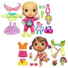 Crib Life Lilly Sweet & Hailey Hula Dolls - Value Bundle