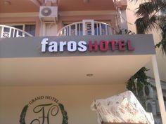 Yine Faros Hotel.