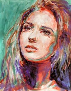 Watercolor Paintings by Lana Khavronenko