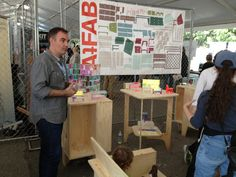 Maker Faire New York: AtFAB's Free CNC Furniture Designs