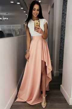 Pretty Prom Dresses For Cheap or Ball Gown Dresses Lulus that Jcpenney Homecoming Gowns beyond Bodycon Homecoming Dresses Cheap High Low Prom Dresses, Pretty Prom Dresses, Prom Dresses For Teens, Pink Prom Dresses, Prom Dresses With Sleeves, A Line Prom Dresses, Ball Gown Dresses, Simple Dresses, Homecoming Dresses