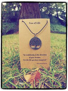 Celtic Tree of Life necklace - Handmade Nature necklace - Yoga jewelry