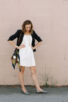 OUTFIT: Little White Dress