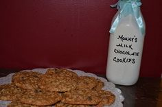 Mommy's Milk Cookie Mix Baby Shower New Mommy by SwitzersSweets, $18.00