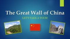 Great Wall of China PowerPoint Presentation - Lets Take a Tour! Series from Christopher Mitchell on TeachersNotebook.com (13 pages)