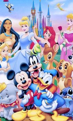 Disney Characters Pictures, Classic Disney Characters, Disney Cartoon Characters, Disney Images, Disney Pictures, Disney Cartoons, Arte Do Mickey Mouse, Mickey Mouse Y Amigos, Mickey Mouse And Friends