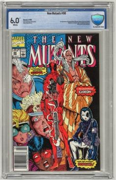 1st appearance of Deadpool (Wade Wilson), Gideon & Vanessa Carlysle (disguised as Domin), later revealed to be Copycat. Rictor quits the New Mutants.