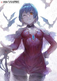 vampire by *Cushart on deviantART