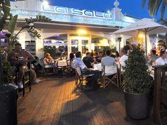 IN BOCA: La Sala restaurant in Puerto Banus still ticks the boxes