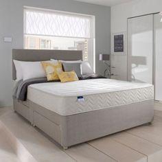 Silentnight Miracoil' memory divan bed and mattress set- at Debenhams.com - get kingsize