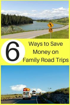 6 Ways to Save Money on Family Road Trips Family Road Trips, Road Trip Usa, Family Travel, Cheap Vacation Destinations, Vacation Ideas, Road Trip Hacks, Ways To Save Money, Money Tips, Wanderlust Travel