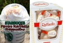Ferrero Raffaello Frappuccino | Starbucks Secret Menu