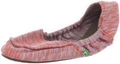 Amazon.com: Sanuk Women's Trippy Toes Flat: Shoes