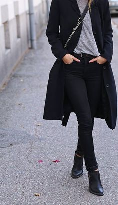 9b8b426c04a  andwhatelse Black Coat Outfit