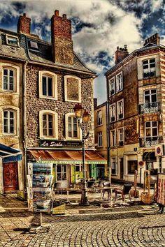 Cafe La Scala - Boulogne sur Mer, France