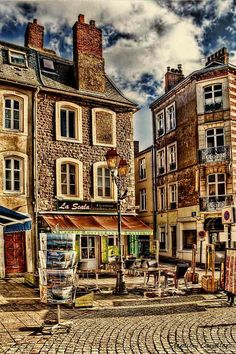 Cafe La Scala - Boulogne sur Mer, France