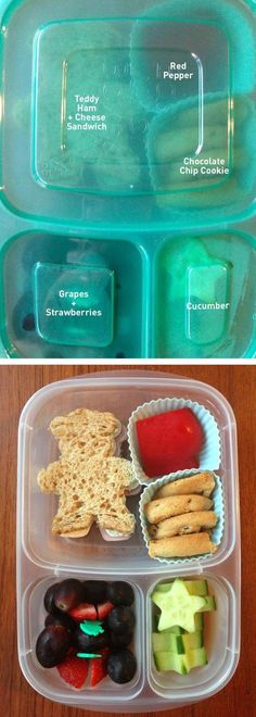 Quick and easy lunch idea | packed in @EasyLunchboxes