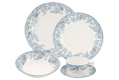 5-Pc Delamere Lakeside Dinnerware Set | One Kings Lane