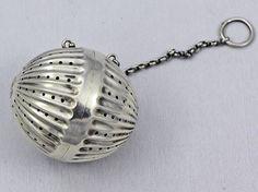 tiffany sterling tea ball