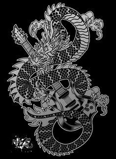 GRIM DRAGON by CaziTena.deviantart.com on @deviantART