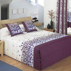 Bed Spreads, Bed Sheets, Quilt Patterns, Decoration, Room Decor, Diy Crafts, Color Lila, Furniture, Bedrooms