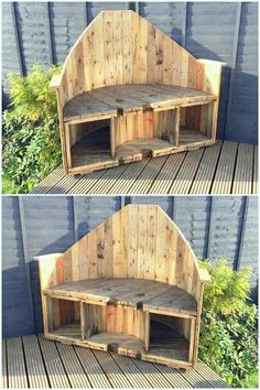 35 Interesting Ideas to Give Old Wood Pallets New Look Diy Pallet Sofa, Wooden Pallet Projects, Wooden Pallet Furniture, Pallet Crafts, Wooden Pallets, Pallet Ideas, Pallet Designs, Furniture Ideas, Diy Projects